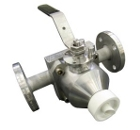 Sampling valve, capacitive ball 310N